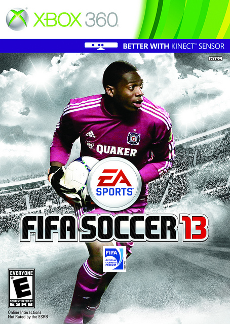 Camp Shutout Staff Member Sean Johnson is On the Cover of FIFA13